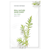 Nature Republic Real Nature Mask Sheet Tea Tree - 23ml